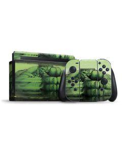 Hulk is Ready for Battle Nintendo Switch Bundle Skin