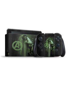 Hulk is Ready Nintendo Switch Bundle Skin