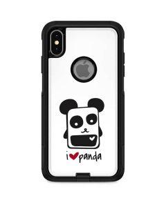 i HEART panda Otterbox Commuter iPhone Skin