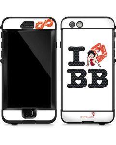 I Love BB LifeProof Nuud iPhone Skin