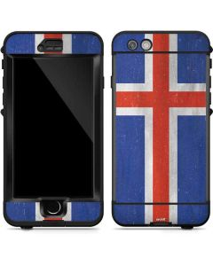 Iceland Flag Distressed LifeProof Nuud iPhone Skin