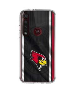 Illinois State Jersey Moto G8 Plus Clear Case