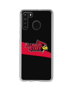 Illinois State University Galaxy A21 Clear Case