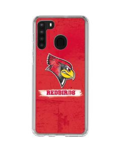 Illinois State Vintage Galaxy A21 Clear Case