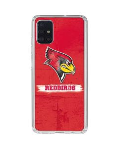 Illinois State Vintage Galaxy A71 Clear Case