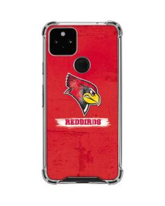 Illinois State Vintage Google Pixel 4a 5G Clear Case