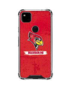 Illinois State Vintage Google Pixel 4a Clear Case