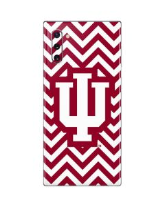 Indiana Chevron Print Galaxy Note 10 Skin
