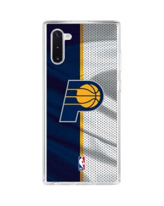Indiana Pacers Away Jersey Galaxy Note 10 Clear Case