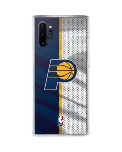 Indiana Pacers Away Jersey Galaxy Note 10 Plus Clear Case