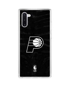 Indiana Pacers Black Animal Print Galaxy Note 10 Clear Case
