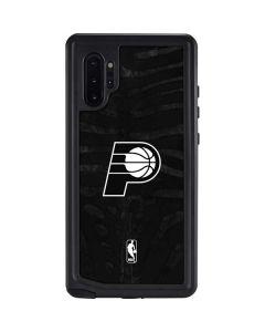 Indiana Pacers Black Animal Print Galaxy Note 10 Plus Waterproof Case