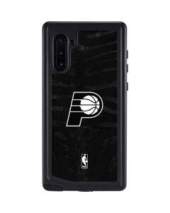 Indiana Pacers Black Animal Print Galaxy Note 10 Waterproof Case