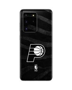 Indiana Pacers Black Animal Print Galaxy S20 Ultra 5G Skin
