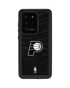 Indiana Pacers Black Animal Print Galaxy S20 Ultra 5G Waterproof Case