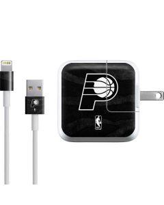 Indiana Pacers Black Animal Print iPad Charger (10W USB) Skin