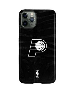 Indiana Pacers Black Animal Print iPhone 11 Pro Lite Case