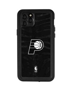 Indiana Pacers Black Animal Print iPhone 11 Pro Max Waterproof Case