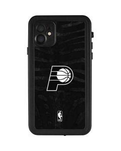 Indiana Pacers Black Animal Print iPhone 11 Waterproof Case