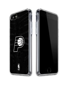 Indiana Pacers Black Animal Print iPhone SE Clear Case