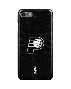 Indiana Pacers Black Animal Print iPhone SE Lite Case
