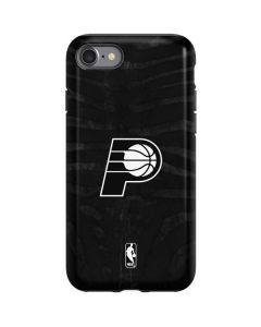 Indiana Pacers Black Animal Print iPhone SE Pro Case