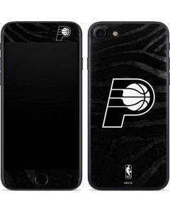 Indiana Pacers Black Animal Print iPhone SE Skin