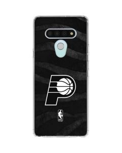 Indiana Pacers Black Animal Print LG Stylo 6 Clear Case