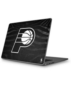 Indiana Pacers Black Animal Print Apple MacBook Pro 17-inch Skin
