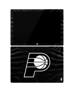 Indiana Pacers Black Animal Print Surface Pro 7 Skin