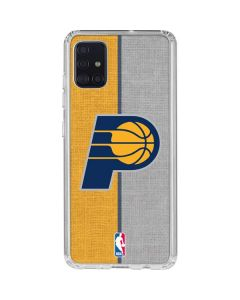 Indiana Pacers Canvas Galaxy A51 Clear Case