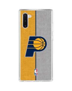 Indiana Pacers Canvas Galaxy Note 10 Clear Case