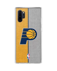 Indiana Pacers Canvas Galaxy Note 10 Plus Clear Case