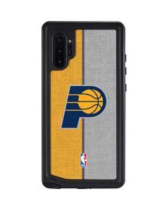 Indiana Pacers Canvas Galaxy Note 10 Plus Waterproof Case