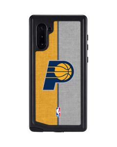 Indiana Pacers Canvas Galaxy Note 10 Waterproof Case