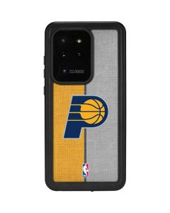 Indiana Pacers Canvas Galaxy S20 Ultra 5G Waterproof Case