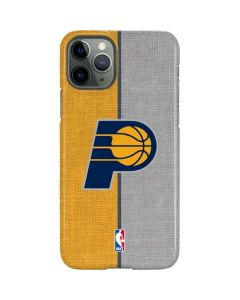 Indiana Pacers Canvas iPhone 11 Pro Lite Case