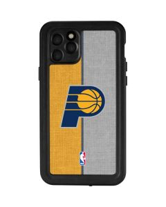 Indiana Pacers Canvas iPhone 11 Pro Waterproof Case