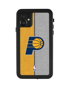 Indiana Pacers Canvas iPhone 11 Waterproof Case