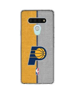 Indiana Pacers Canvas LG Stylo 6 Clear Case