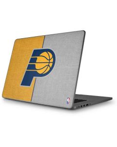 Indiana Pacers Canvas Apple MacBook Pro 17-inch Skin