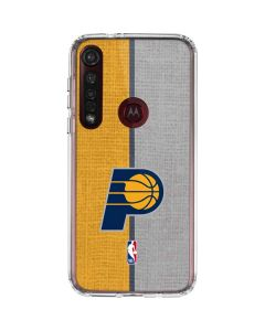 Indiana Pacers Canvas Moto G8 Plus Clear Case