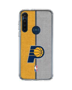 Indiana Pacers Canvas Moto G8 Power Clear Case