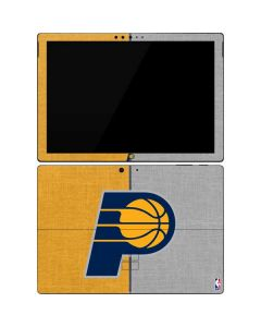 Indiana Pacers Canvas Surface Pro 7 Skin