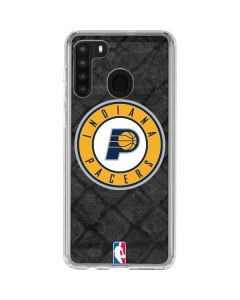 Indiana Pacers Dark Rust Galaxy A21 Clear Case