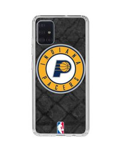 Indiana Pacers Dark Rust Galaxy A51 Clear Case