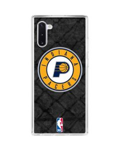 Indiana Pacers Dark Rust Galaxy Note 10 Clear Case