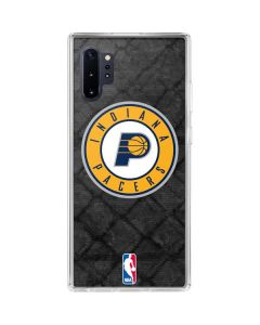 Indiana Pacers Dark Rust Galaxy Note 10 Plus Clear Case