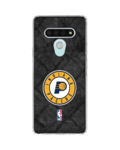 Indiana Pacers Dark Rust LG Stylo 6 Clear Case