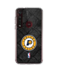 Indiana Pacers Dark Rust Moto G8 Plus Clear Case